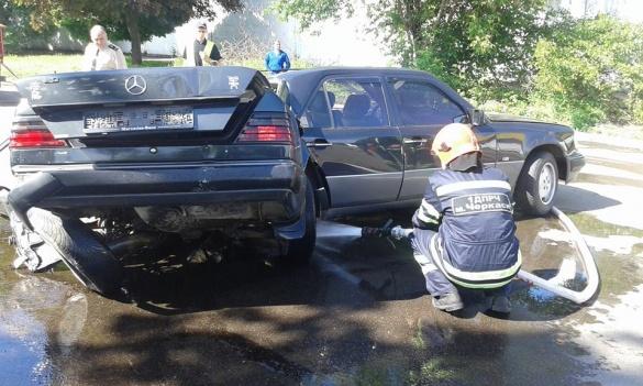 Рятувальники тричі ліквідували наслідки ДТП у Черкасах