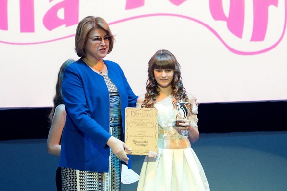 Маленька черкащанка отримала титул кращої моделі України