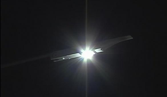 У Черкасах встановлюють надсучасні ліхтарі