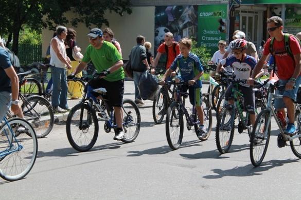 У суботу сотні жителів Черкас масово пересядуть на велосипеди