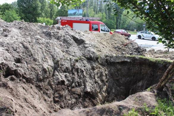 Випадок обвалу підземного тунелю у Черкасах розслідують правоохоронці
