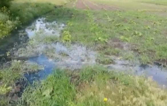 На Черкащині людей заливає пахучими нечистотами із несправного колектора