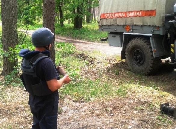 За добу на черкащині знайшли дві мінометні міни
