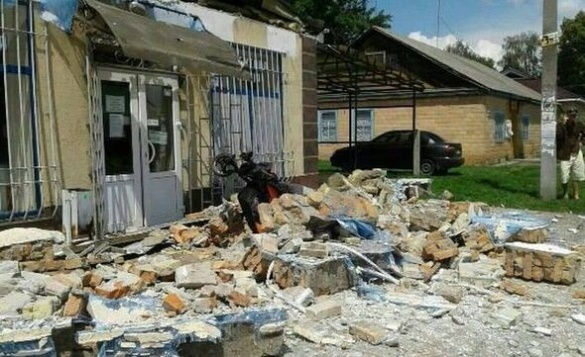На Черкащині внаслідок обвалу будівлі постраждала жінка (ФОТО)