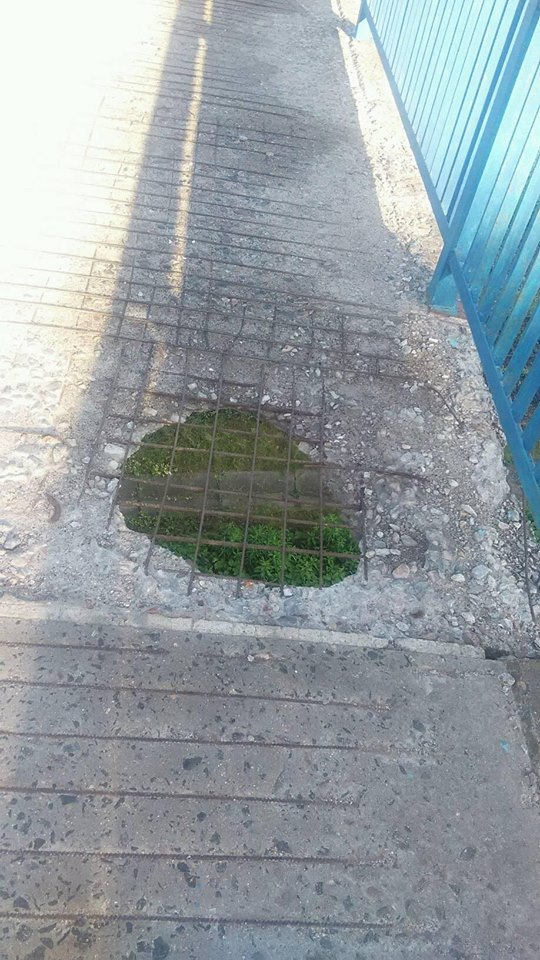 Містяни бояться ходити патріотичним мостом у Черкасах (ФОТО)