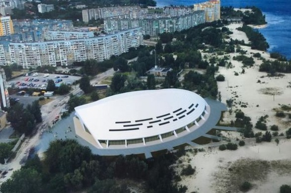 На Митниці найближчими роками планують побудувати сучасний льодовий палац