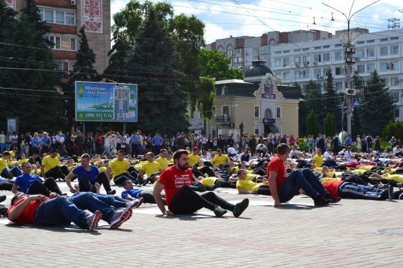Як черкащани рекорд України встановлювали (ФОТО, ВІДЕО)