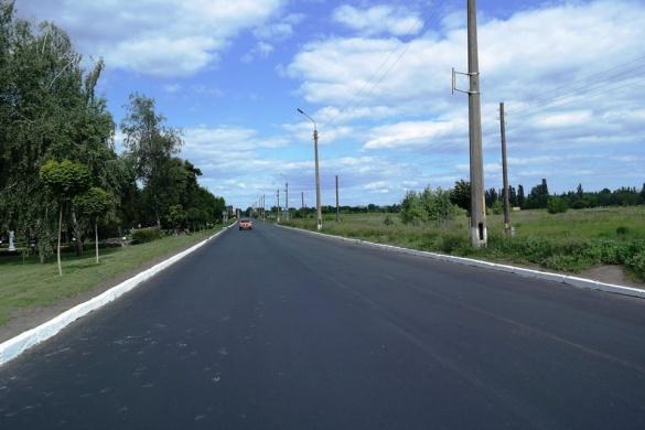 У Черкасах відремонтували одну з найгірших доріг (ФОТО)