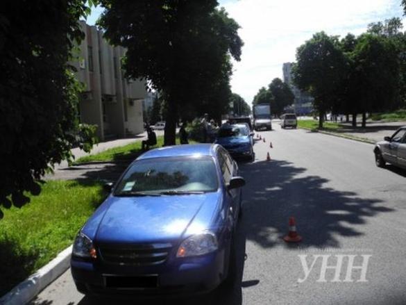 ДТП за участі трьох легковиків сталася в Черкасах