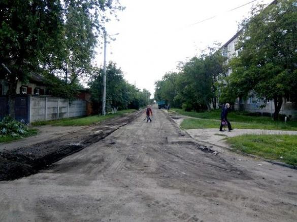 Ще одна черкаського вулиця дочекалася капітального ремонту дороги