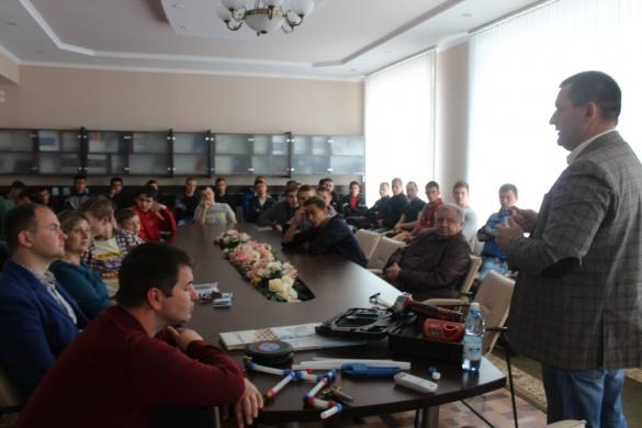У черкаському училищі учні отримують якісну професійну освіту*