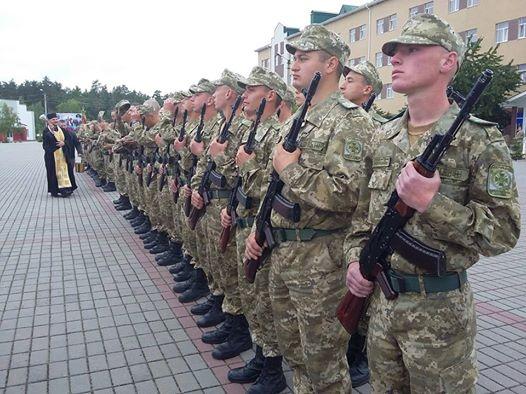На Черкащині прикордонники присягнули на вірність українському народові