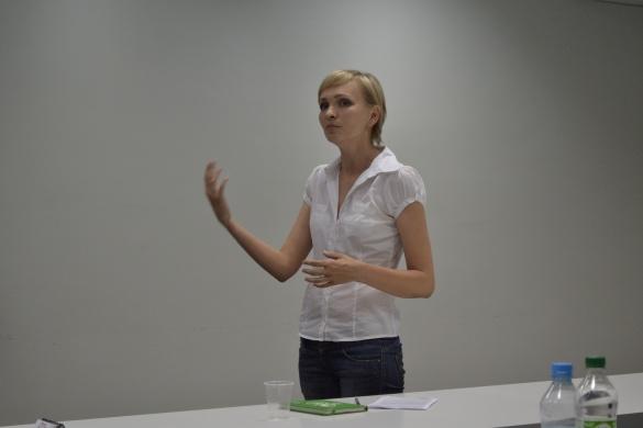 Відома черкащанка Ольга Касьянова розповіла, на кого спрацьовує слово