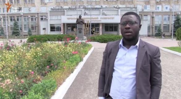 У Черкасах студенти із Нігерії, Кувейту та Гани заговорили українською (ВІДЕО)