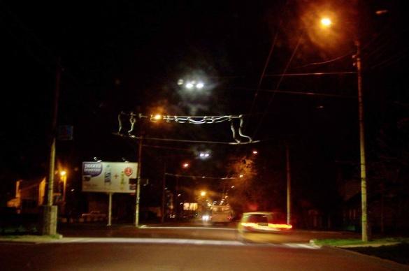 Пішохідні переходи у Черкасах додатково освітлюють