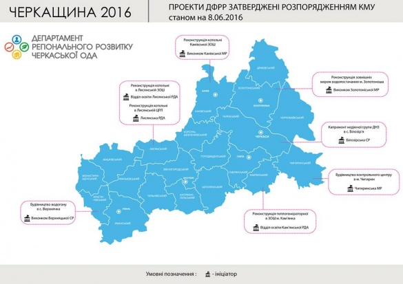 Будівництва та реконструкції: які проекти планують реалізувати на Черкащині