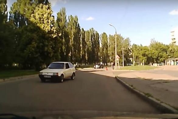 Водія-втікача, який збив черкащанку, знайшла поліція (ВІДЕО)