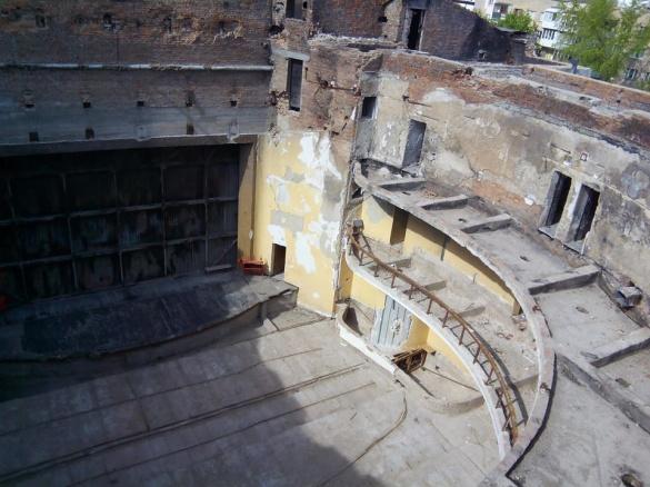 У черкаському драмтеатрі нарешті розпочалися ремонтні роботи