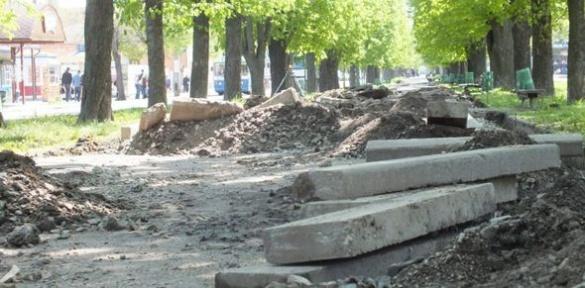 На бульварі Шевченка з'явиться європейський газон
