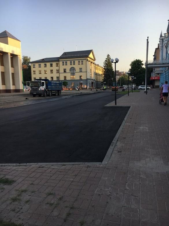 Ще одну дорогу відремонтували у центрі Черкас
