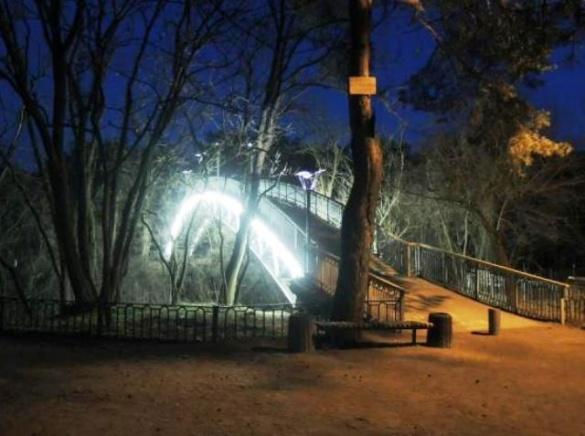 У черкаському парку сталася жахлива трагедія: із мосту впав чоловік