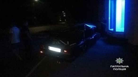 У Черкасах п'яний водій потрапив у ДТП