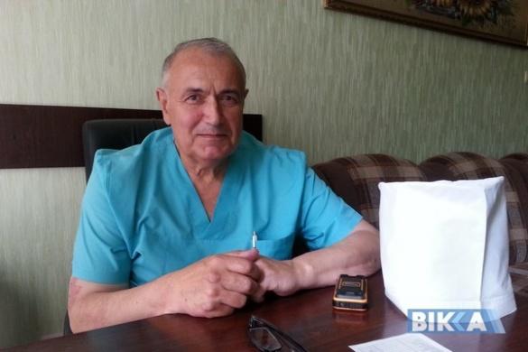 Черкаський хірург не тільки лікує, а й перевиховує своїх пацієнтів