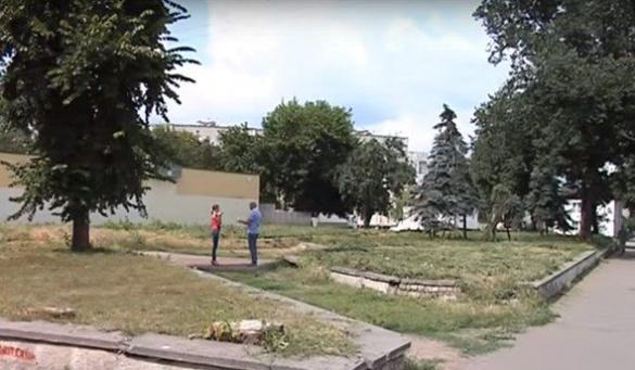 У Черкасах занедбана ділянка землі може перетворитися на комфортний сквер