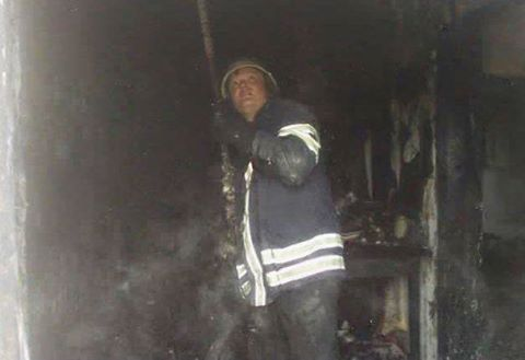 В одному з житлових будинків на Черкащині сталася пожежа