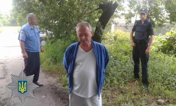 У Черкасах поліція затримала чоловіка, який стріляв по людях (ФОТО)