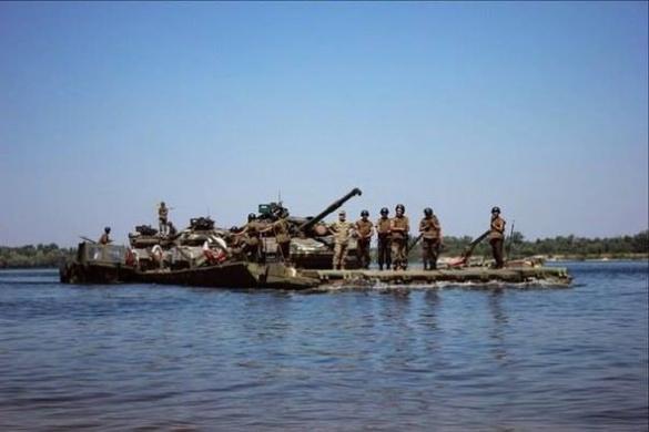 На Черкащині українські військові форсували Дніпро (ВІДЕО)