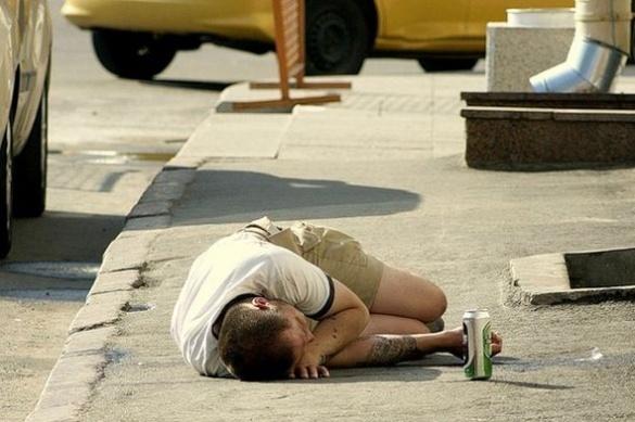 Черкаські вулиці заполонили сп'янілі чоловіки