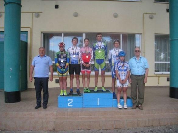 Черкаські велосипедисти повернулися з медалями із чемпіонату України