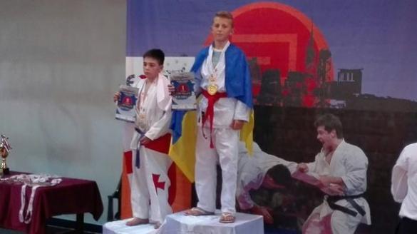Школяр із Черкащини став чемпіоном Європи з годзюрю карате