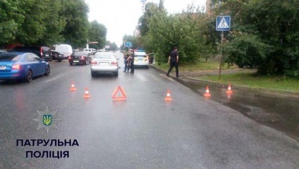 На одному з черкаських перехресть сталася чергова ДТП