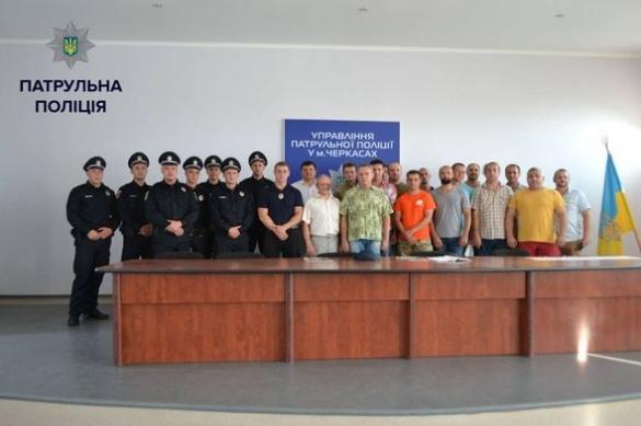 Черкаські полісмени отримали відзнаки за боротьбу з браконьєрством