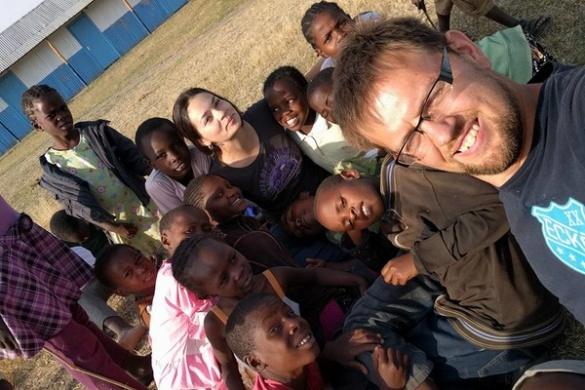 В Африці команда черкащан дарувала дітям українську любов