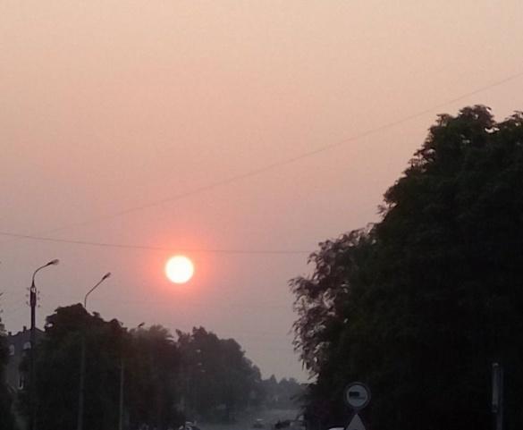 Жителі Золотоноші другий день страждають від смогу