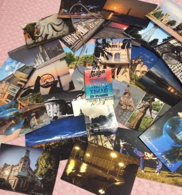 Черкасцям покажуть листівки із зображенням рідного міста