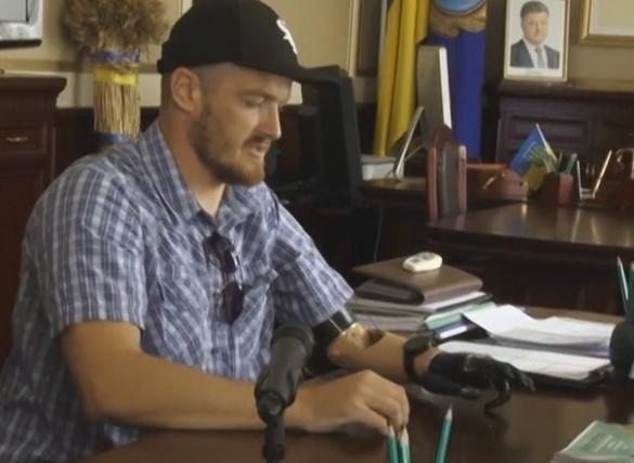 Черкаській АТОвець після важкого поранення хоче створити центр реабілітації для військових