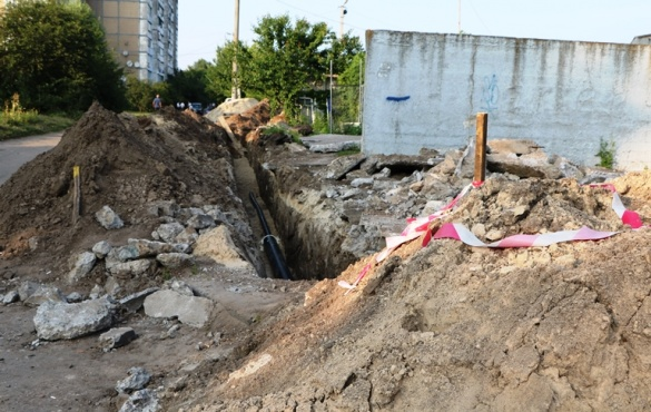 Газопостачання у двох черкаських будинках на Хоменка невдовзі відновлять