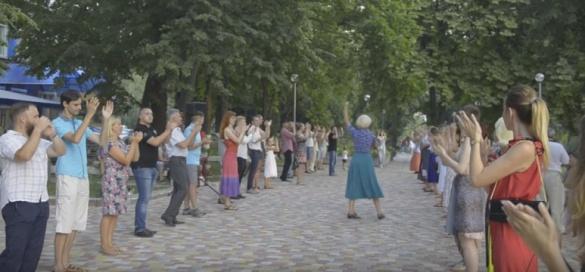 Танго під відкритим небом: у Черкасах стартували