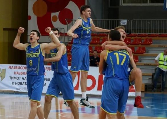 Черкаські баскетболісти в складі збірної України U-18 виграли півфінал чемпіонату Європи