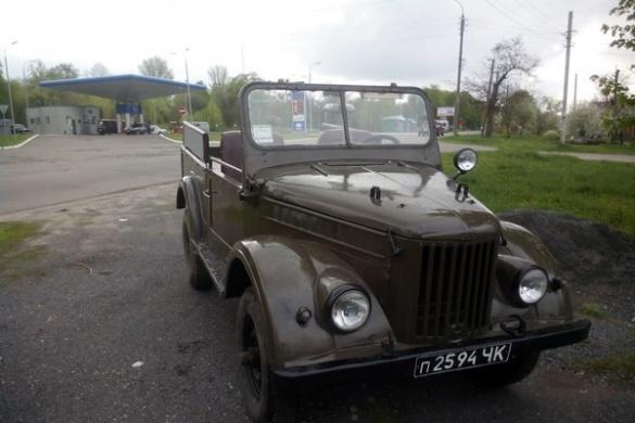 Викрадену раритетну автівку відшукали у Черкасах (ФОТО)