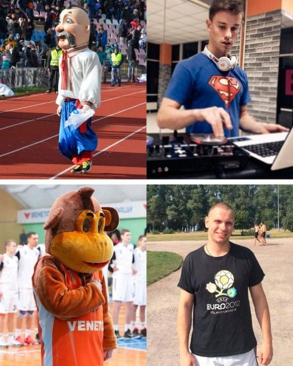 Люди в масках: хто приносить удачу черкаським спортсменам?