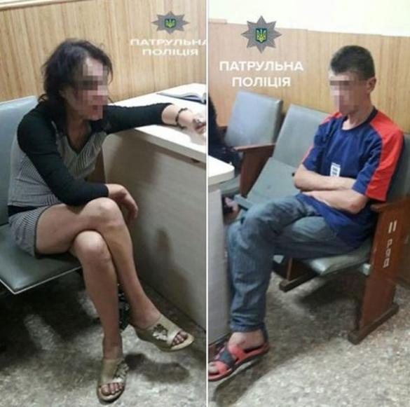 Черкаські полісмени затримали двох нестримних коханців (ФОТО)