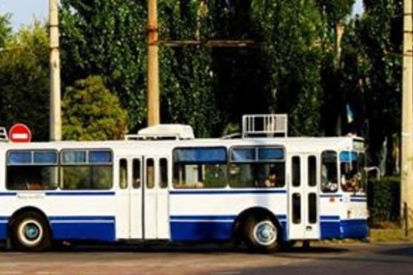 На одній із черкаських вулиць обмежено рух тролейбусів