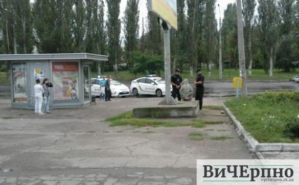 Із черкаської маршрутки висадили пасажирів через вибухівку (ФОТО)