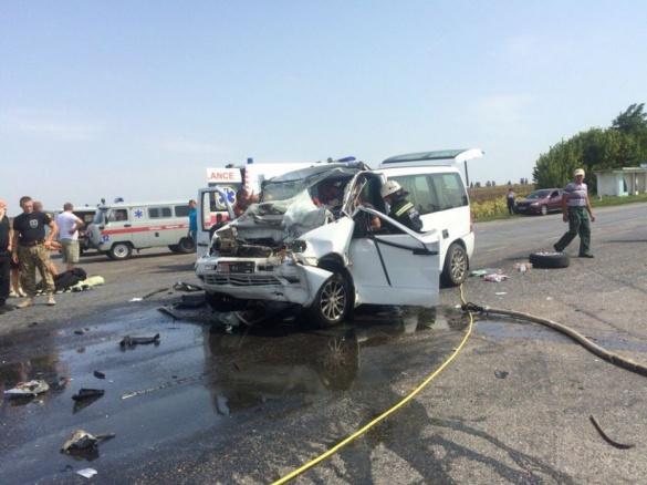 У страшній ДТП на Черкащині постраждали АТОвці
