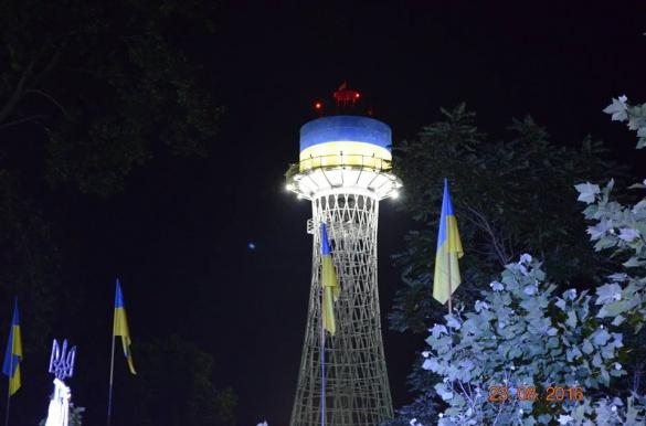 На оновлення унікальної вежі у Черкасах витратили більше 400 тис. гривень